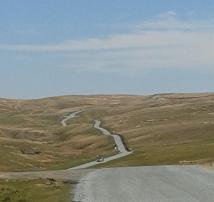 Drovers road towards Barnard Castle